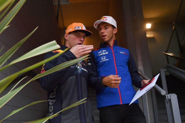 F1 | レッドブル首脳「フェルスタッペン中心のチームにはならない」。新チームメイト、ガスリーを対等に扱うと明言