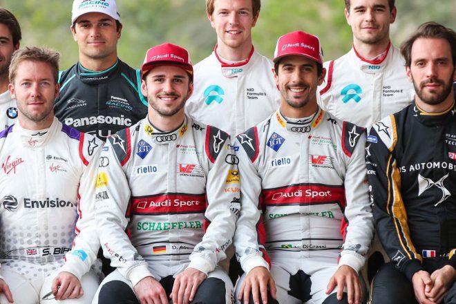 2018/2019年のシーズン5に臨むダニエル・アプト(左)とルーカス・ディ・グラッシ(右)