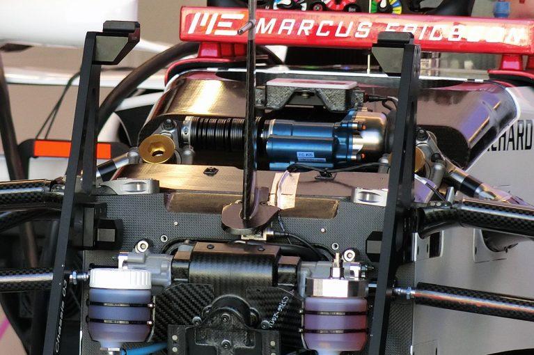 F1   【津川哲夫2018年私的ベストメカ1/5】もはや高周波レベルのサスペンション制御。ヒーブコントロールに込められた英知