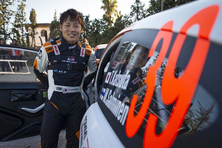 ラリー/WRC   ヤリスWRCでの参戦も。勝田貴元が臨む2019年TGRラリーチャレンジプログラム概要発表