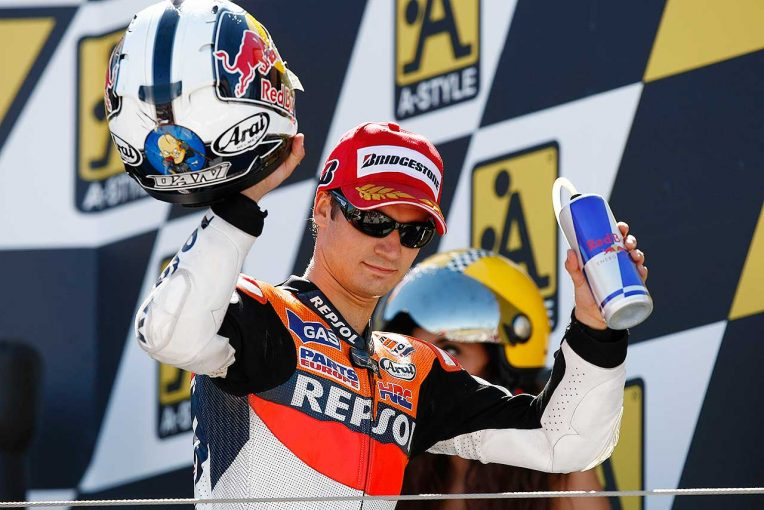 MotoGP   ペドロサがMotoGPで歩んだ軌跡【2】最高峰クラス昇格。速さを持ちながら相次ぐケガに悩まされる