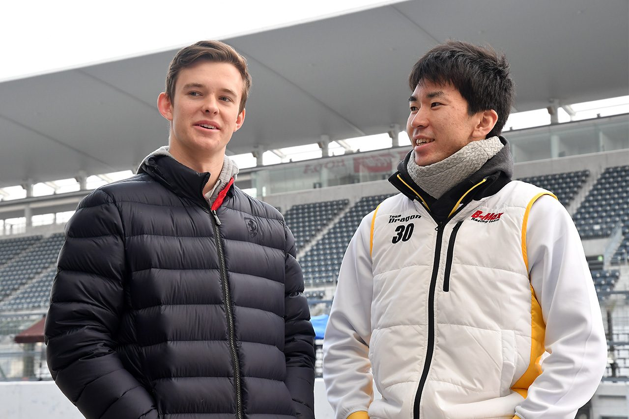 全日本F3選手権鈴鹿合同テスト:初日は宮田莉朋が最速。ウエットの午後はニューウェイ首位