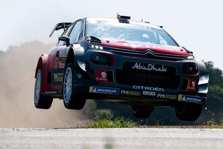 ラリー/WRC   WRC:シトロエン、2019年はブランド100周年記念カラーで参戦。エントリー名称も変更