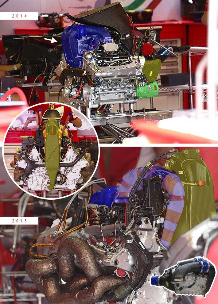 F1技術解説(1):フェラーリ製パワーユニットは、いかにメルセデスに追い付いたのか
