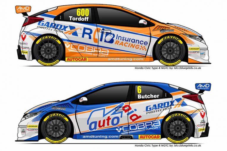 海外レース他 | BTCC:タイトル候補トルドフがAmD移籍。ホンダ・シビック・タイプRをドライブへ