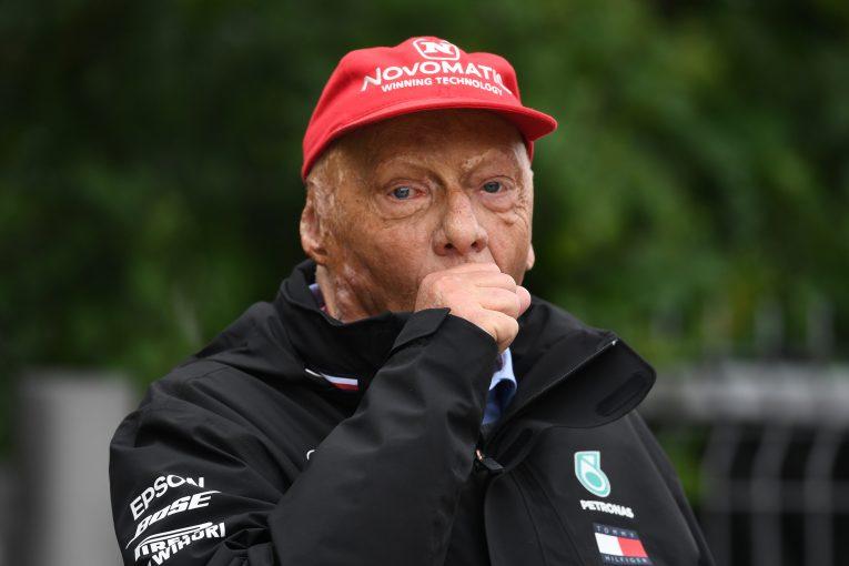 F1 | ラウダ、ベッテルからの手書きの手紙に感激。順調に回復し「ひと月で元通りに」と2019年の復帰も示唆