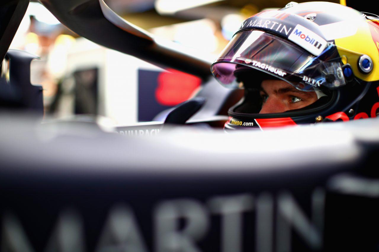 2018年F1アブダビGPでのフェルスタッペン
