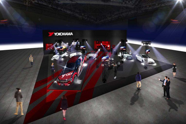 インフォメーション | 横浜ゴム、タイヤ&ホイールブースを東京オートサロンに出展。ADVANタイヤ履くSF19の展示も