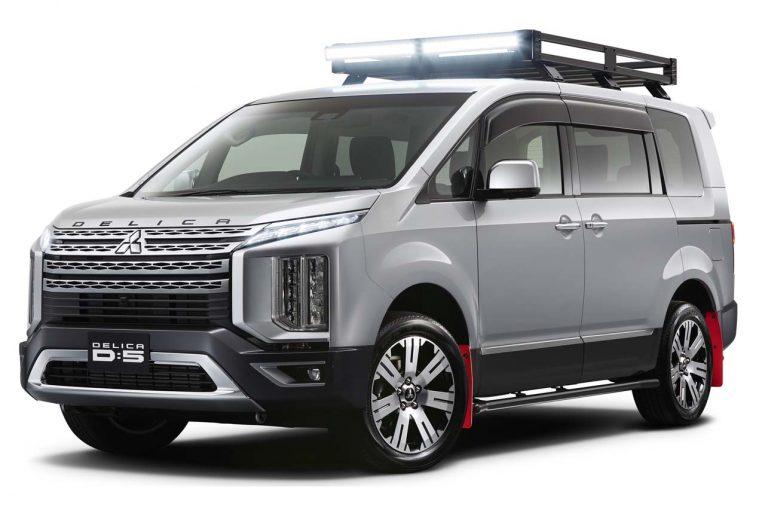 クルマ | 新型『デリカD:5』など3車種をカスタム。ミツビシ、東京オートサロンでオンロードスポーティを提案