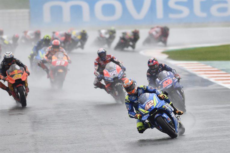 2018年シーズンのMotoGP最終戦バレンシアGPでは赤旗中断後にリスタートし、レース2が行われた。