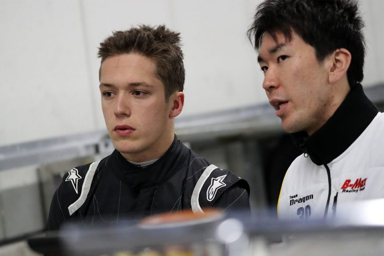 国内レース他 | GT300クラスにも参戦するサッシャ・フェネストラズ、B-Max with Motoparkから全日本F3へ参戦