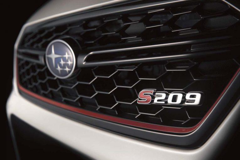 クルマ   スバル・STIのSシリーズ最新作『S209』が2019年デトロイトショーで初公開へ