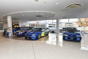 インフォメーション | スバル、歴代WRCカーなどを展示するSTIギャラリーをリニューアル。1月6日に再オープン