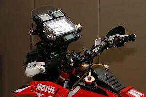 MotoGP | ロードブックはメーター上付近に備わっている