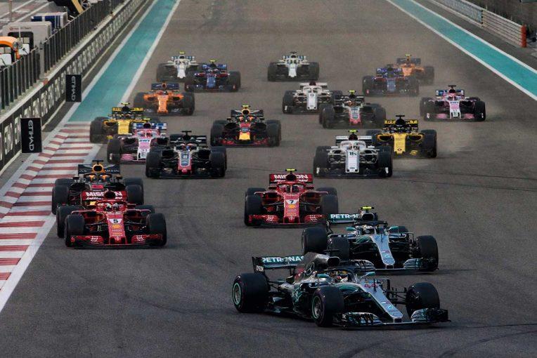 F1アブダビGP スタート