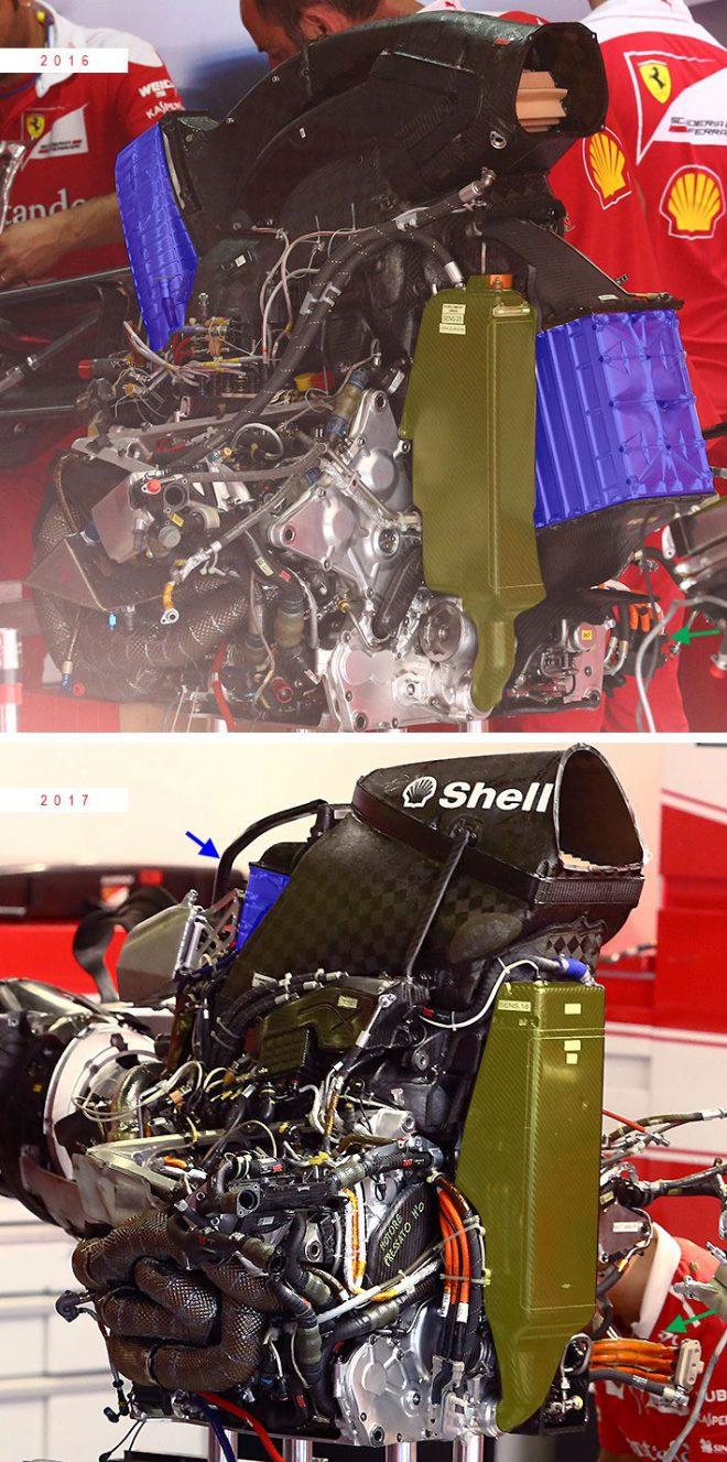 フェラーリ製パワーユニット 2016、2017