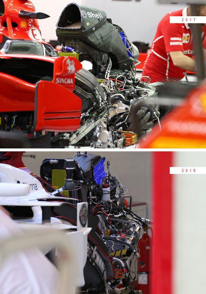 フェラーリ製パワーユニット 2017、2018
