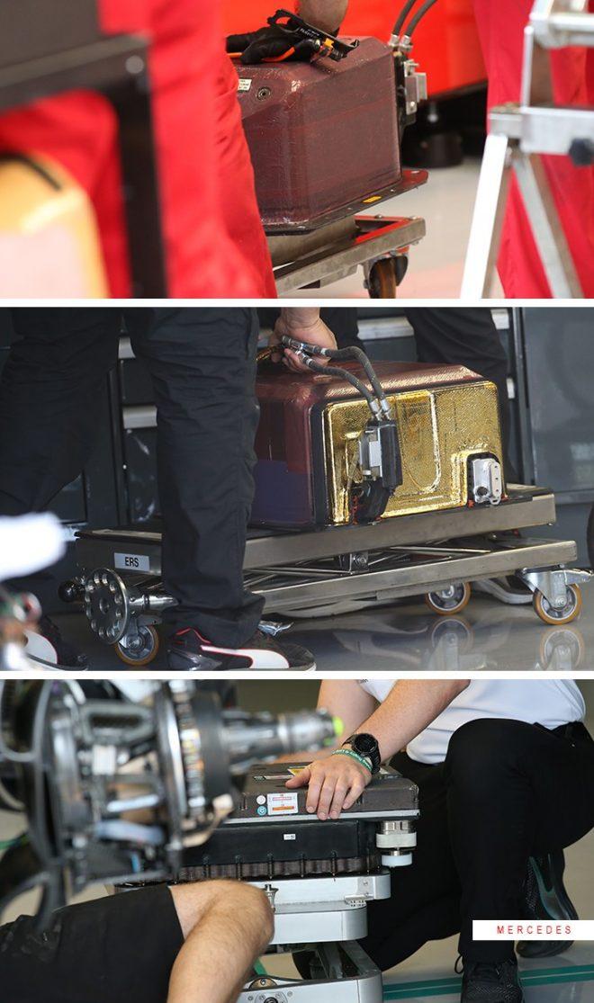 フェラーリとメルセデスの2018年仕様パワーユニットのERS