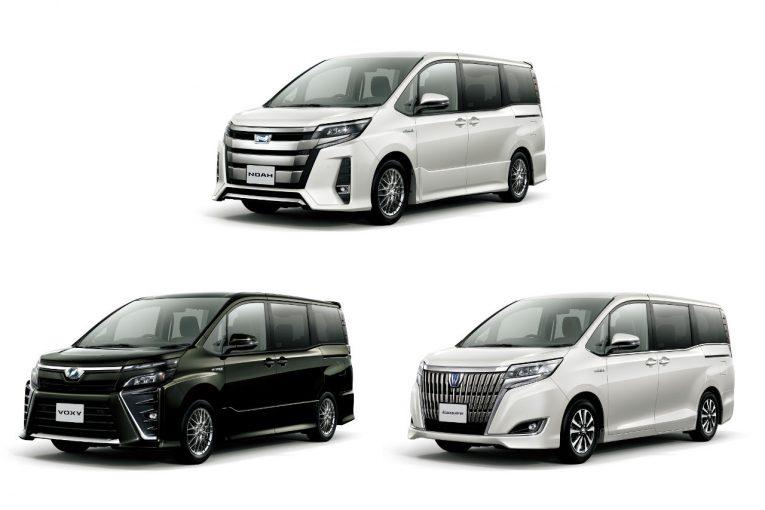 クルマ | トヨタ、人気のミニバン3車種を一部改良。各車の個性を引き出す特別仕様車も新設定