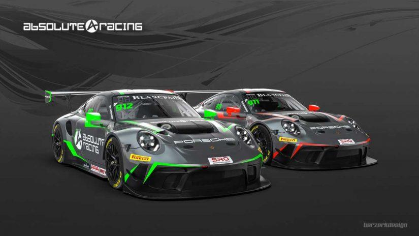 アブソリュート・レーシングが投入する新型ポルシェ911 GT3 R