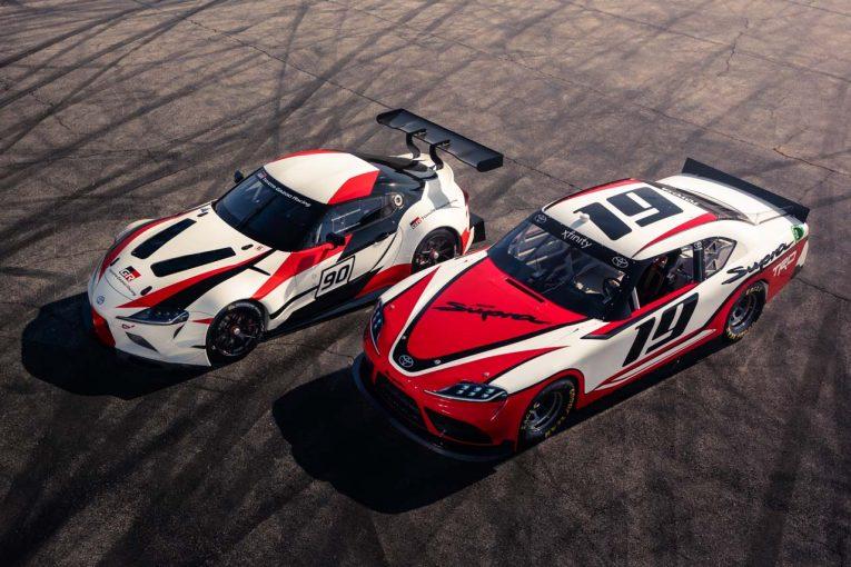 クルマ | 復活間近の新型『トヨタ・スープラ』。先行発表された2台のレーシング仕様車をビジュアル比較