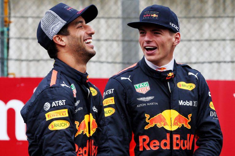 F1 | フェルスタッペン「リカルドのようなチームメイトはもう現れない」