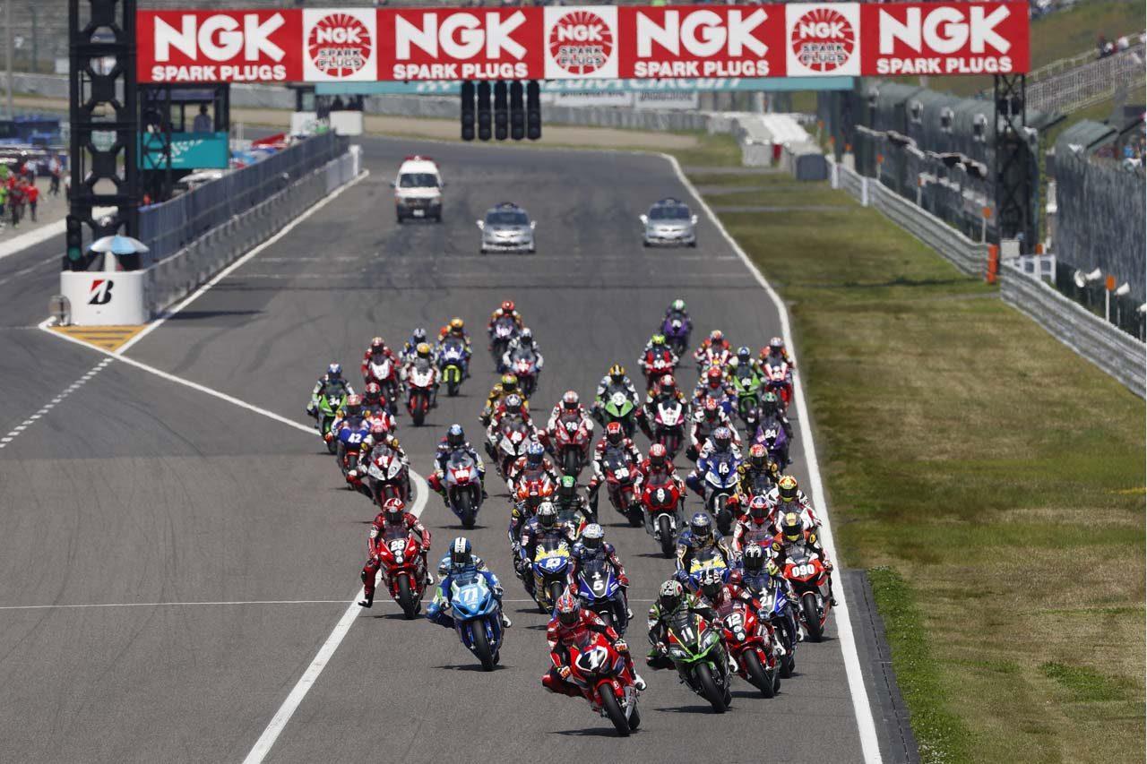NGKスパークプラグがスーパーフォーミュラ開幕戦『鈴鹿2&4レース』の冠スポンサーに