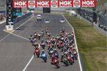 2018 NGKスパークプラグ鈴鹿2&4レース 全日本ロードレース選手権JSB1000開幕戦 スタートシーン