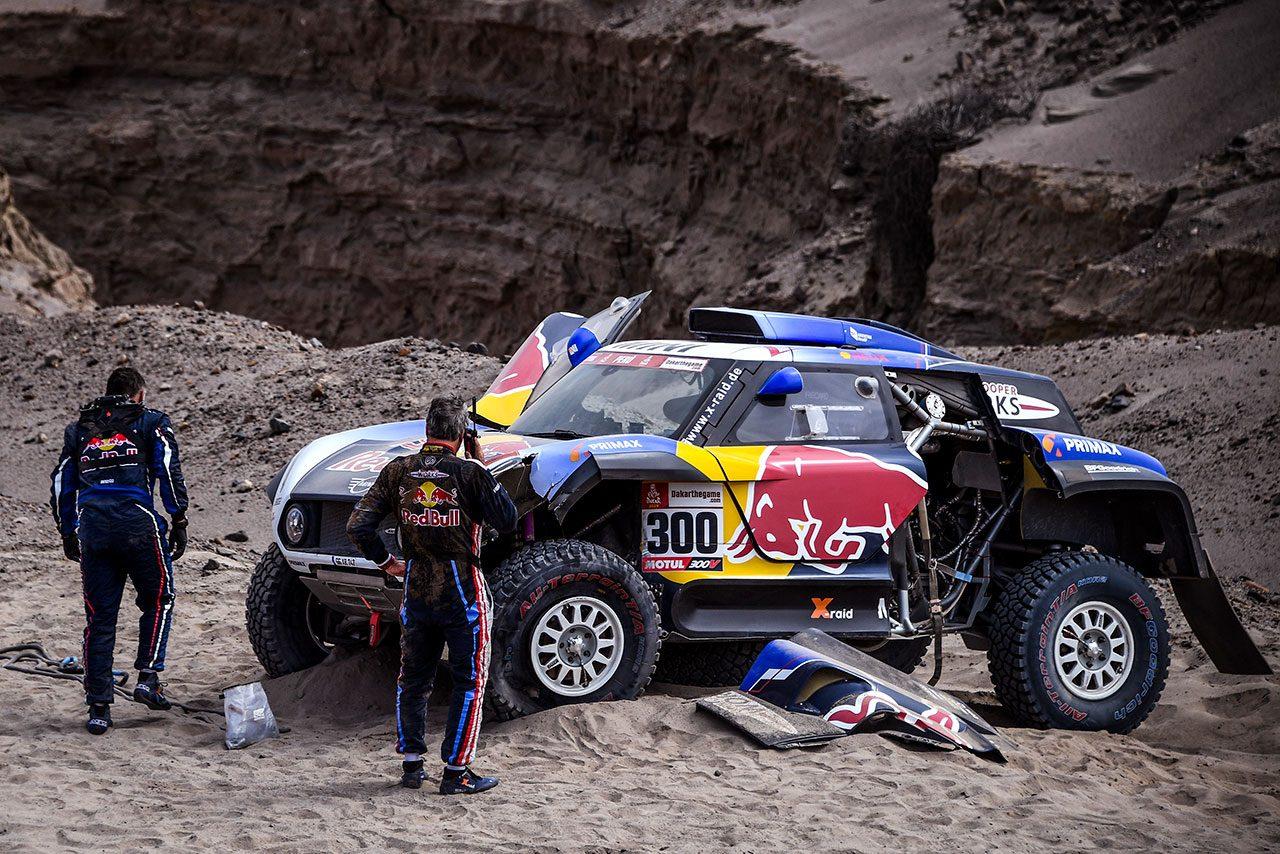 ダカール:競技3日目、トヨタのアル-アティヤが首位奪還。ホンダのエース、バレダがリタイア