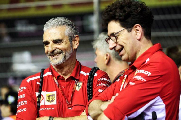 マウリツィオ・アリバベーネ(左)に代わりフェラーリF1のチーム代表となるマッティア・ビノット(右)