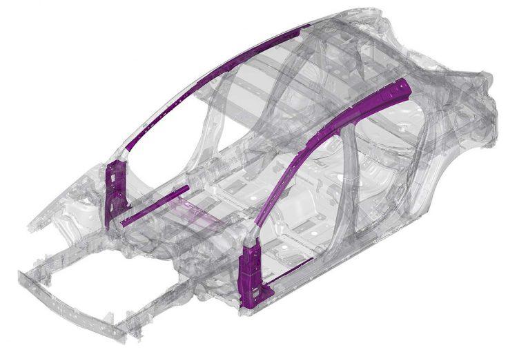 クルマ | マツダ、次世代シャシー用高張力鋼板を共同開発。新型『アクセラ』から採用開始