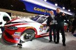 海外レース他 | 2019年NASCAR参戦のトヨタ・スープラが東京オートサロンで国内初登場。公式タイヤサプライヤー、グッドイヤーブースにて
