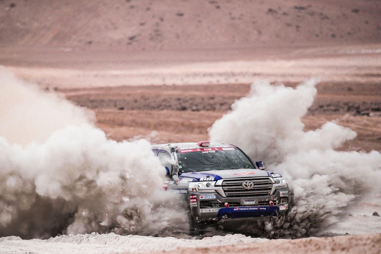 ダカールラリー:競技4日目、トヨタのアル-アティアが首位をキープ。ホンダが2輪部門トップ浮上