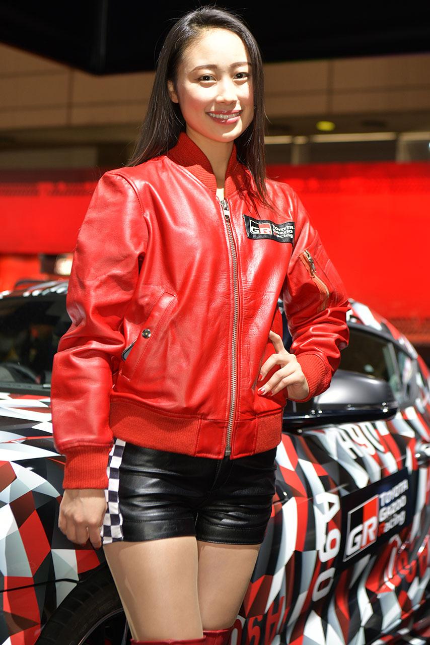 東京オートサロン2019コンパニオンギャラリー<br>長沼南帆/TOYOTA GAZOO Racing