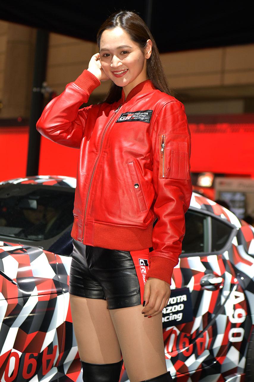 東京オートサロン2019コンパニオンギャラリー<br>不波アンナ/TOYOTA GAZOO Racing