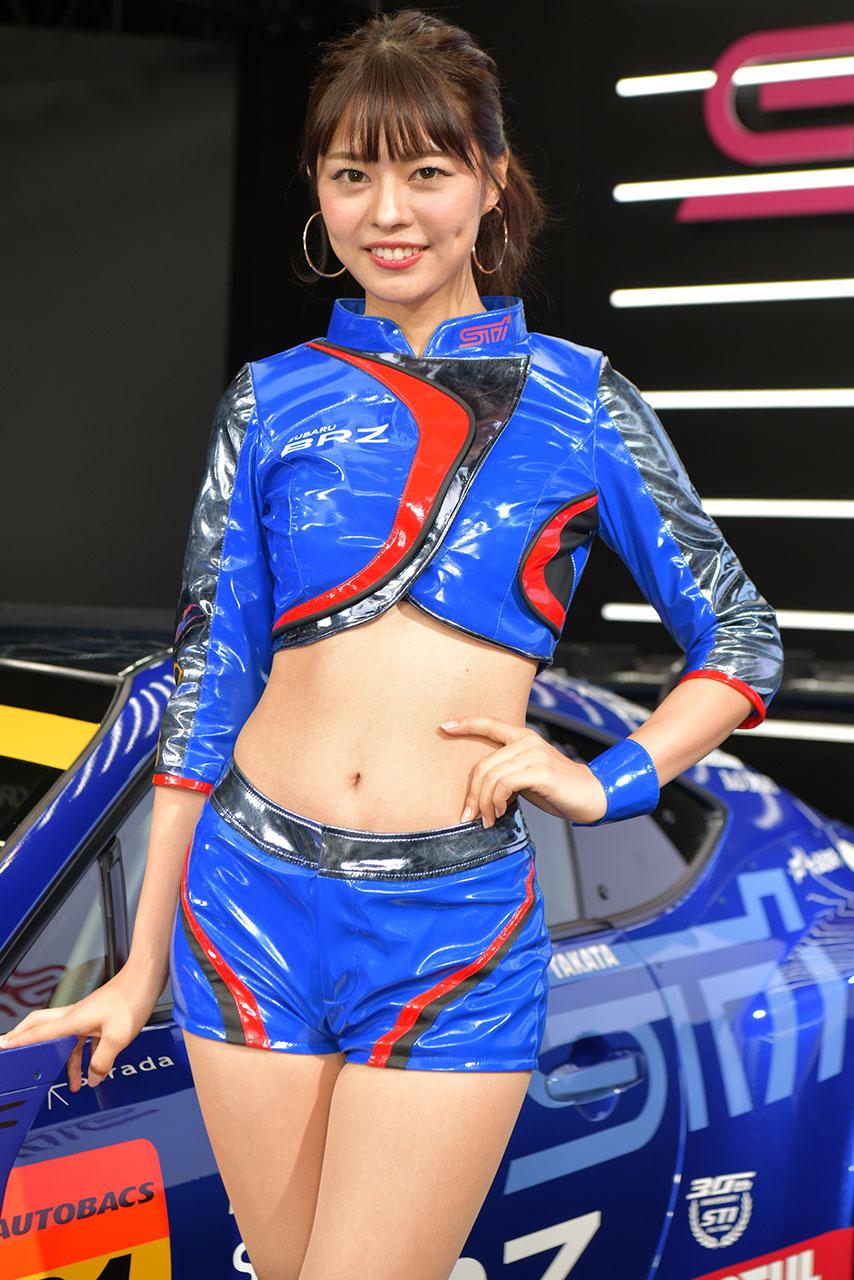 東京オートサロン2019コンパニオンギャラリー<br>津田友美/SUBARU