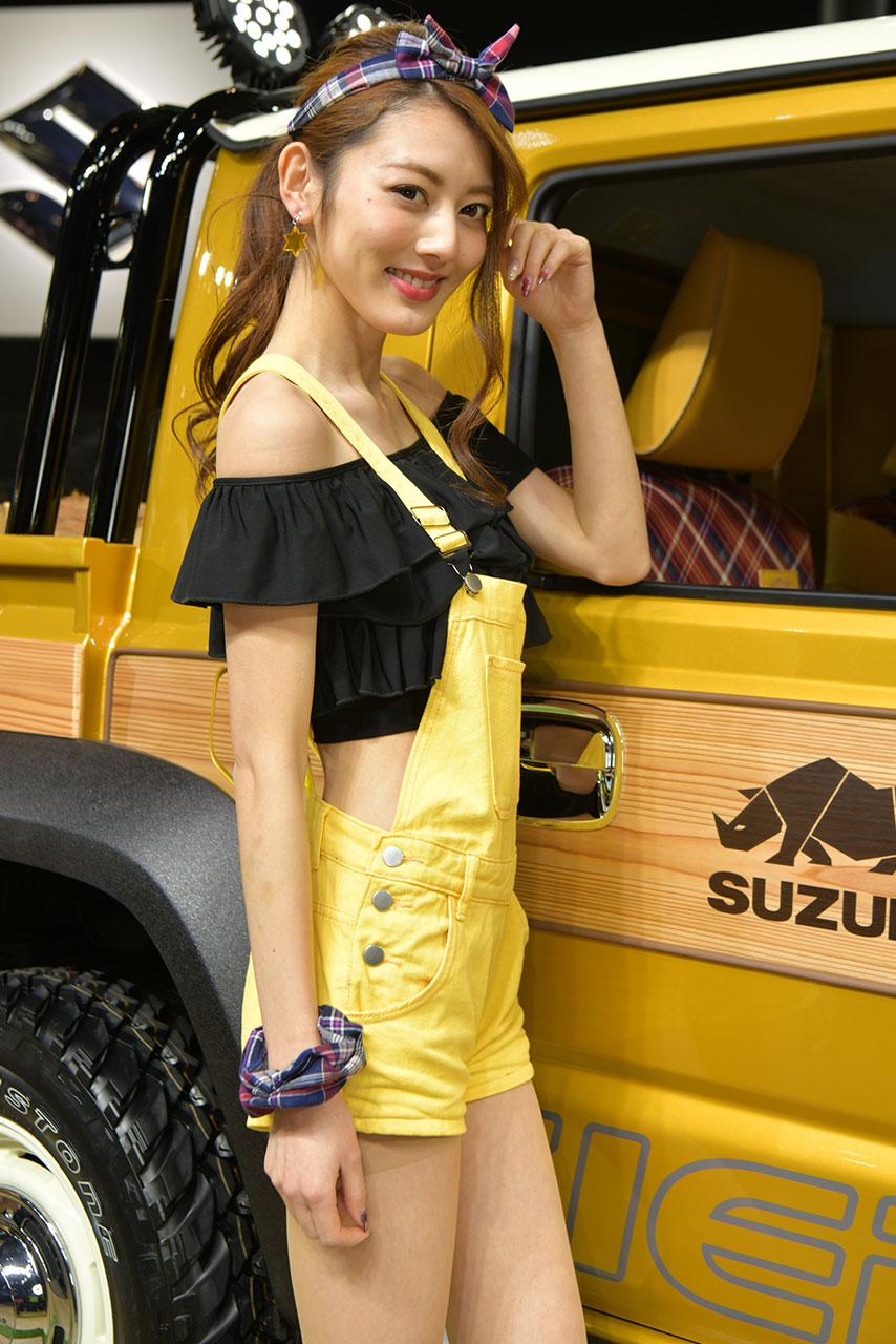 東京オートサロン2019コンパニオンギャラリー<br>丸山帆成美/SUZUKI
