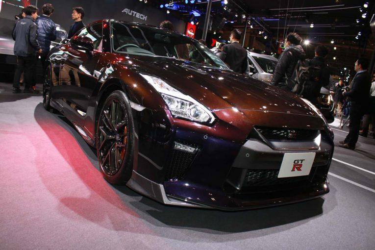 初公開されたニッサンGT-R特別仕様車 大坂なおみ選手 日産ブランドアンバサダー就任記念モデル