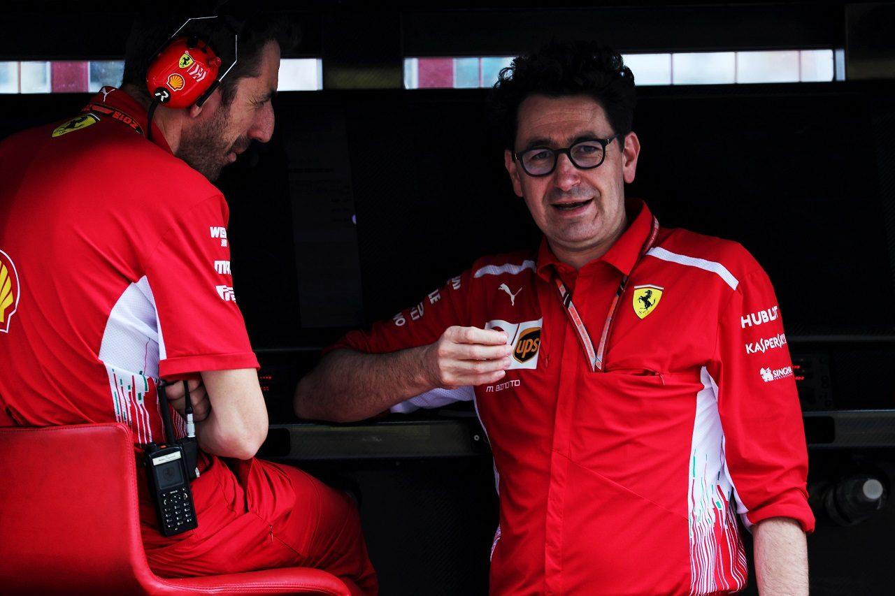 フェラーリのチーム代表の座に就いたマッティア・ビノット