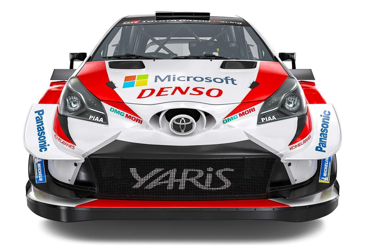 ダブルタイトル獲得を目指すトヨタ、2019年仕様のヤリスWRCを初公開