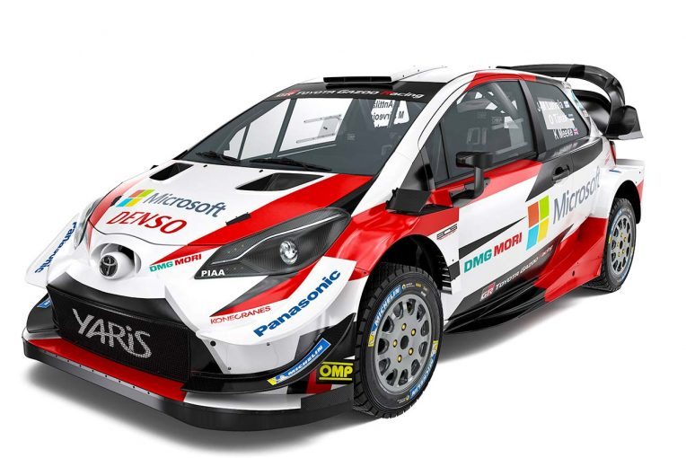ラリー/WRC | ダブルタイトル獲得を目指すトヨタ、2019年仕様のヤリスWRCを初公開
