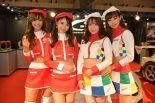東京オートサロン2019 C-WESTのコンパニオンたち