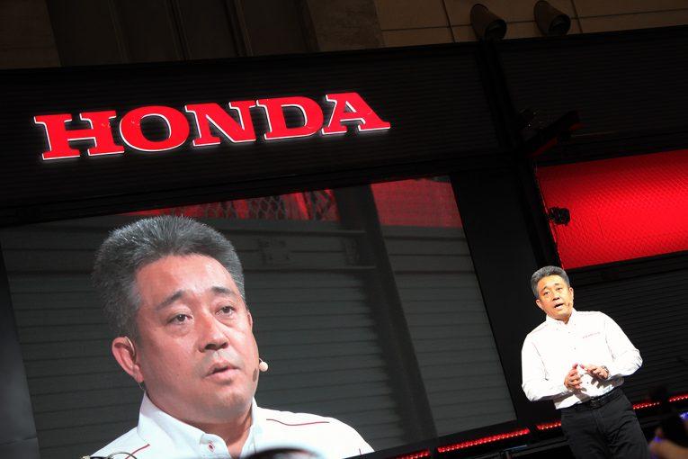 東京オートサロン2019 ホンダ体制発表会