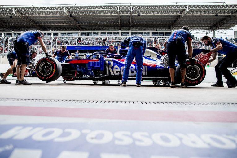 F1 | トロロッソF1の2019年型ニューマシンがクラッシュテストに合格。ホンダとの提携2シーズン目に向け準備が「一歩前進」