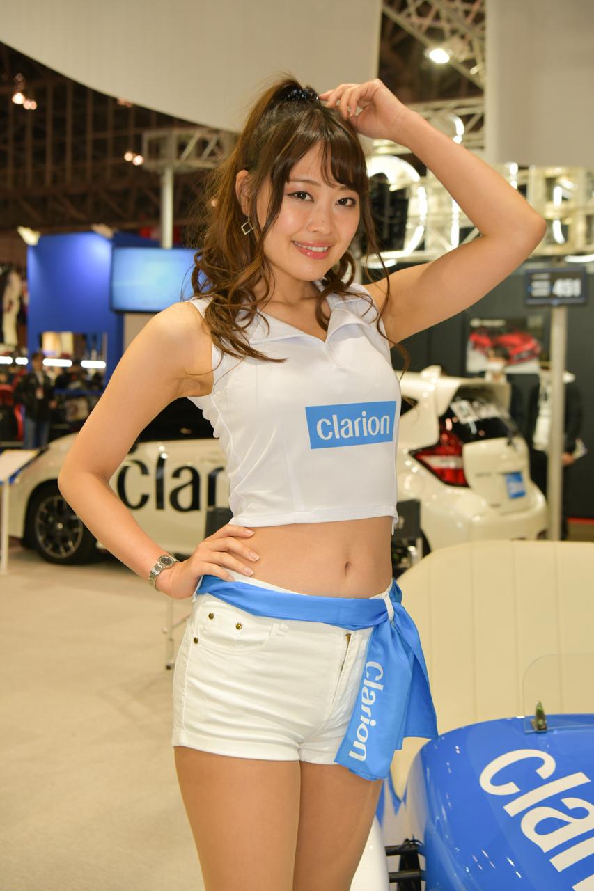 東京オートサロン2019コンパニオンギャラリー<br>滝川りお/クラリオン