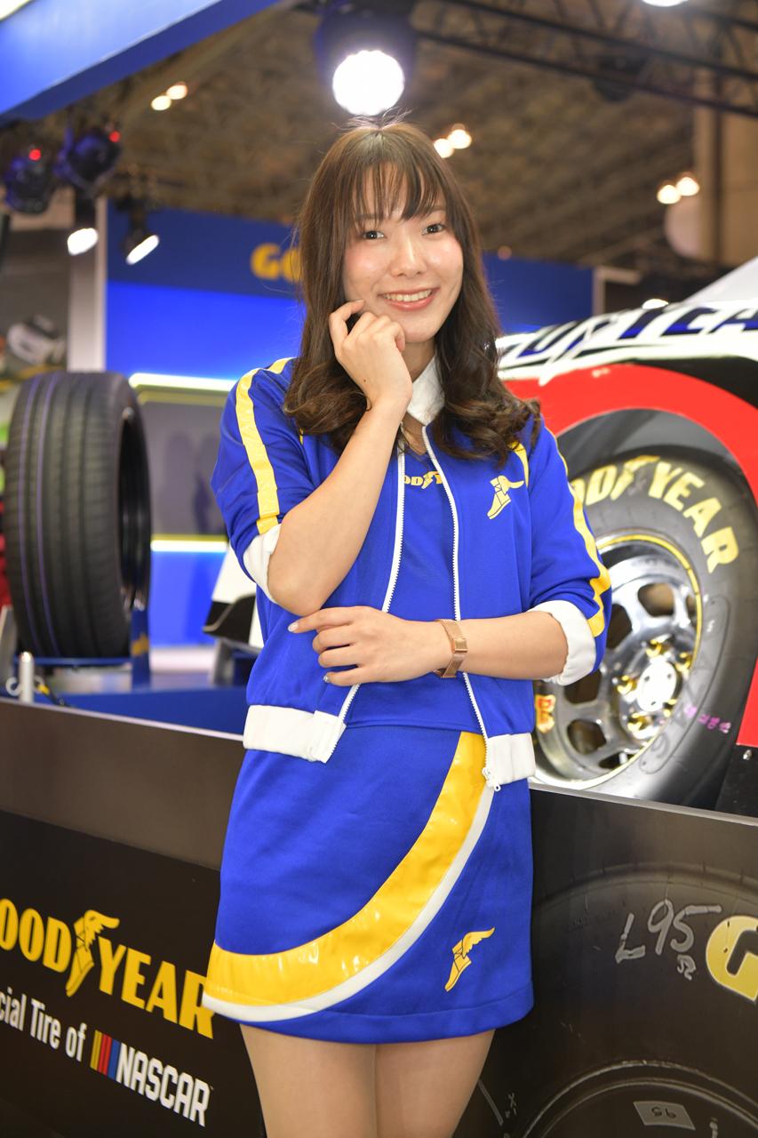 東京オートサロン2019コンパニオンギャラリー<br>浅香えり花/グッドイヤー