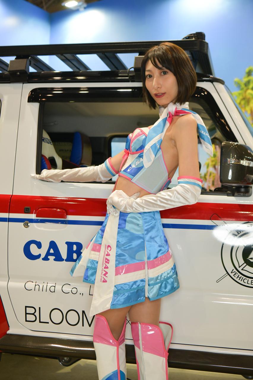 東京オートサロン2019コンパニオンギャラリー<br>草加もな/CABANA