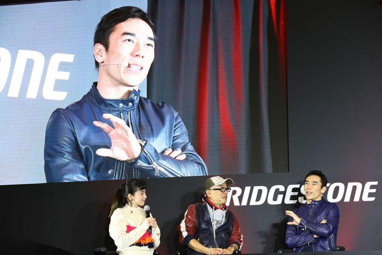 海外レース他 | 東京オートサロン2019に登場した琢磨「昨年は本厄で不幸続き……2019年はシリーズチャンピオンを狙いたい」