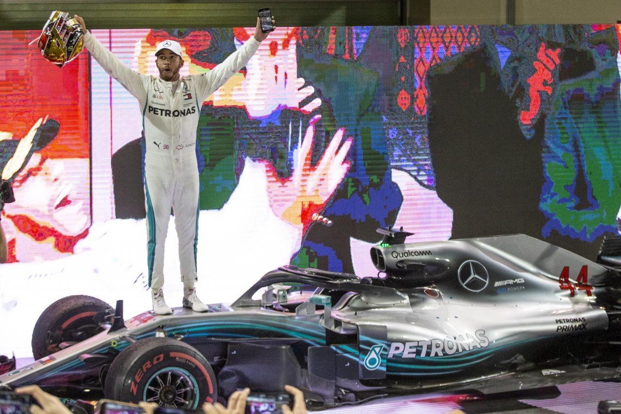 2019年F1アブダビGPでのハミルトン