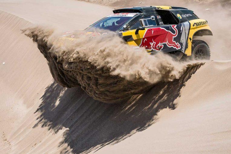 ラリー/WRC | ダカールラリー:休息日を挟んで後半戦開幕。ローブが総合2番手浮上、ホンダは首位陥落